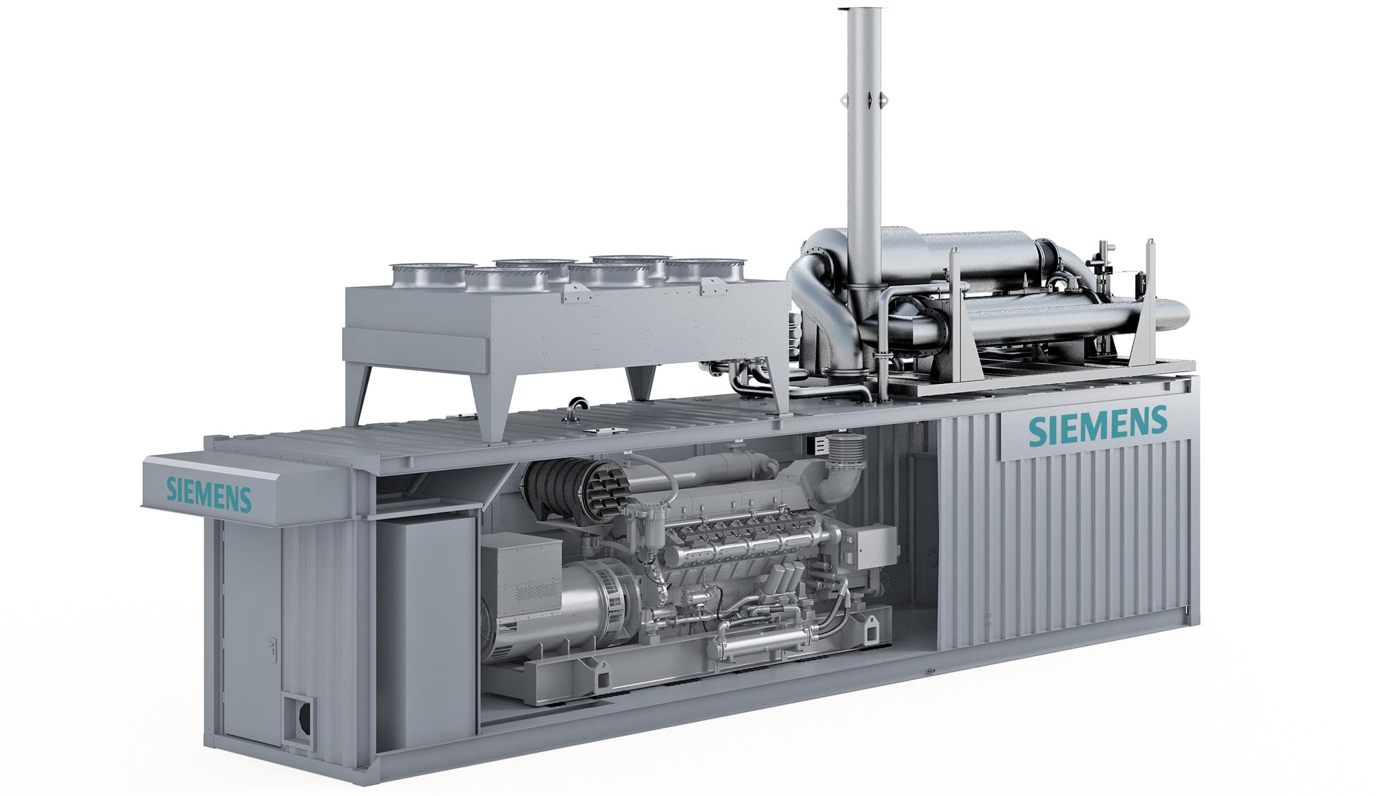 Siemens Gas Engine
