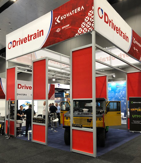 Drivetrain's Booth at International Mining and Resources Conference